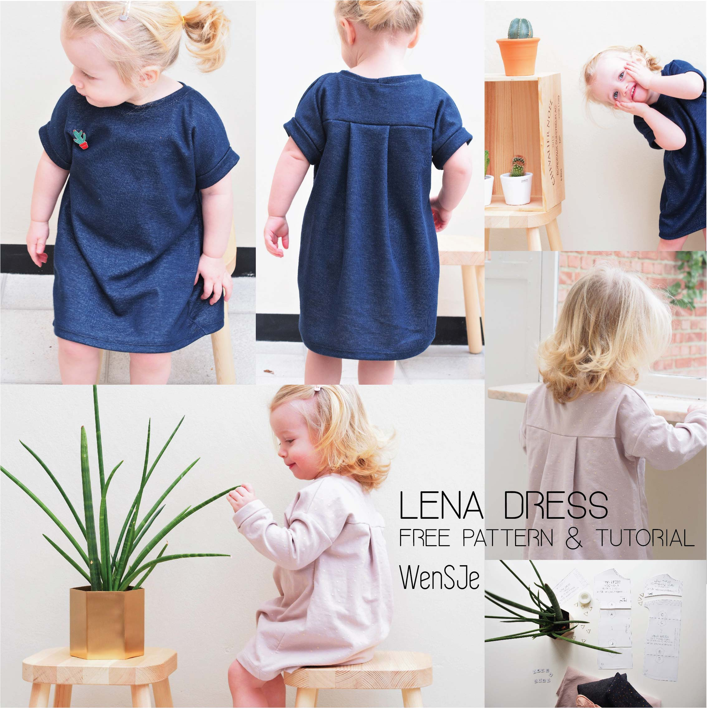 f85cbdf1d8b1f7 Lena dress gratis naaipatroon – free pattern & tutorial – WISJ Designs