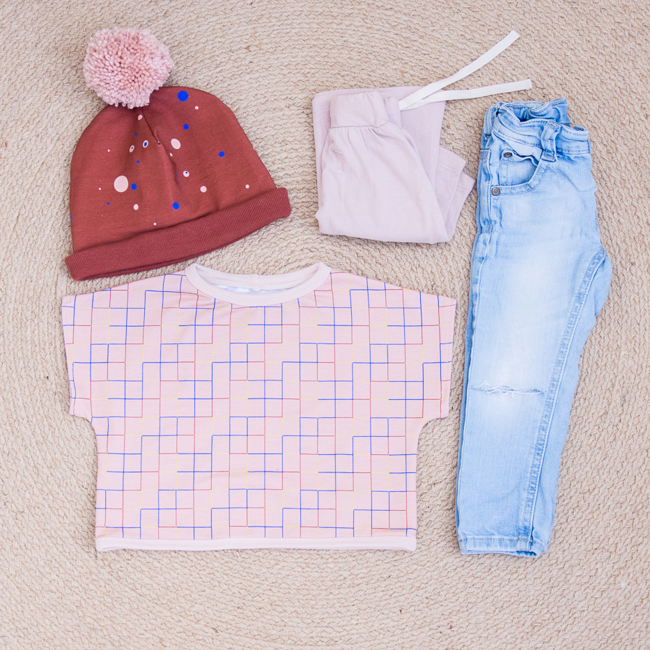 Lotte Martens french terry muts & croptop