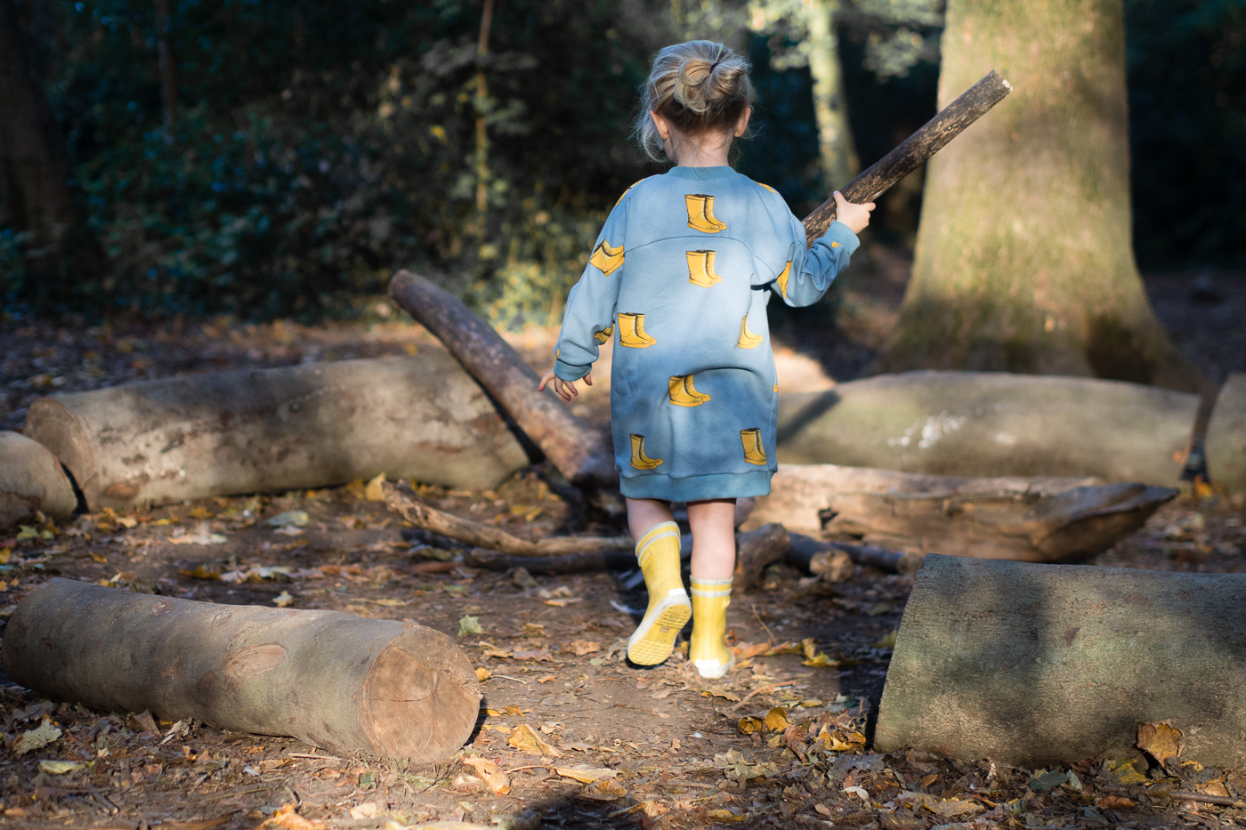 Teddy dress see you at six wellies