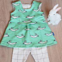 Eva's bunnies voor een mini baby