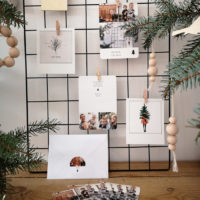 DIY trees & cards for Christmas