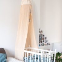 About an old new crib and a canopy