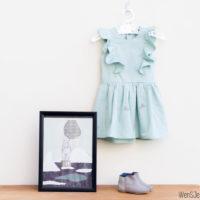 Polina dress pattern test + giveaway